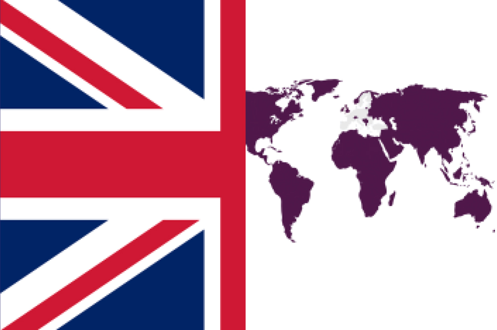 UK and rest of world flag