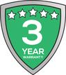 Kyoto-Pro Series 3-Year Warranty