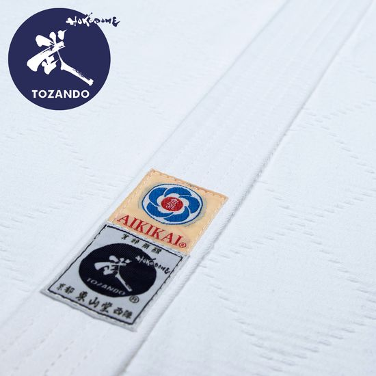 Tozando Supreme DO Aikidogi Set -  Jacket-Lapel-Detail