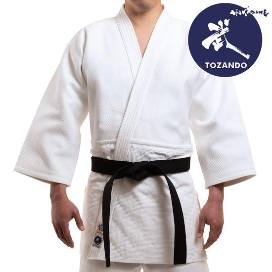 Tozando Supreme DO Aikidogi Set -  Jacket-Model-Front
